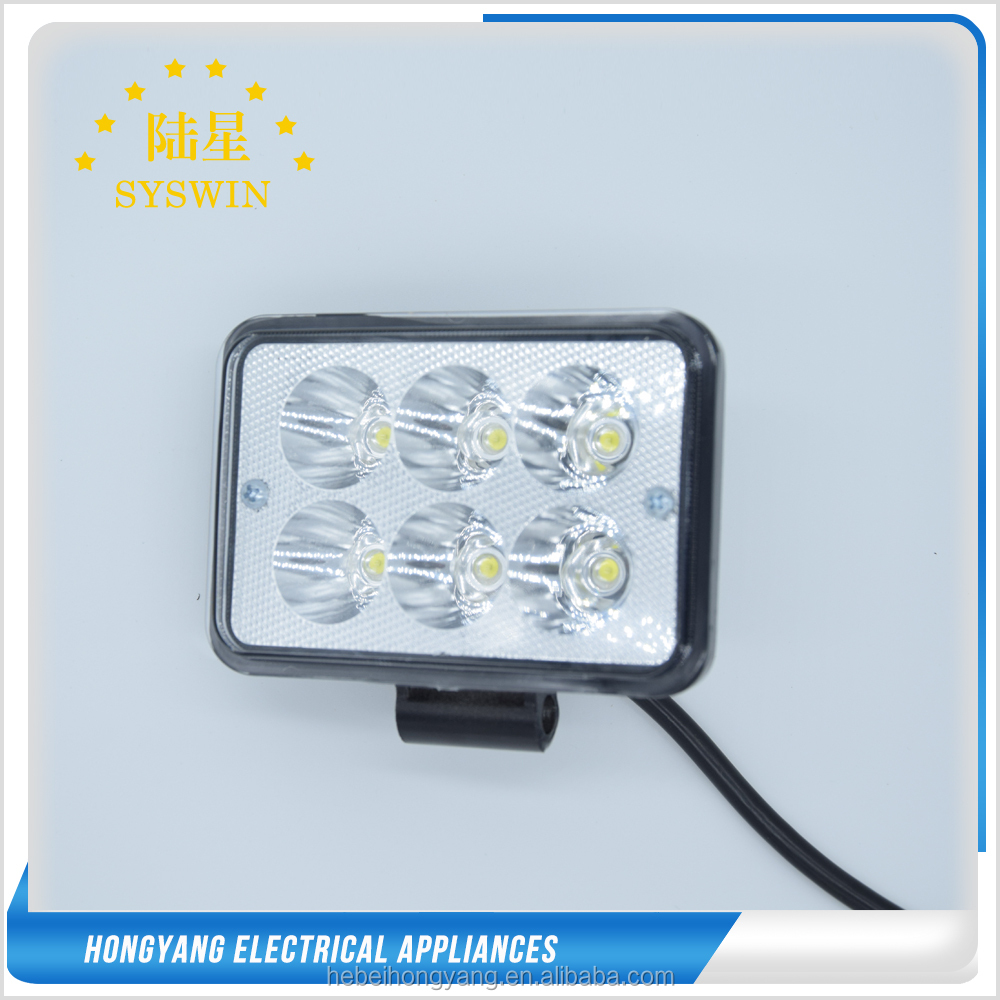 18w 24w 27w led work light for auto parts,cars,atvs motorcycle light ip67 led headlight