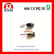3.0V vibration motor mini motor spring contact 4mm