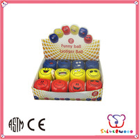 Over 20 years experience eco-friendly Customized Promotional pu smile face stress ball