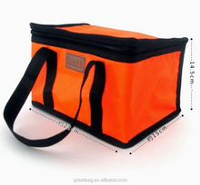 Insulated beer bottle cooler bag