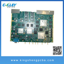 RFID stand alone electronic board with the printed circuit and antenna SMT PCB assembly