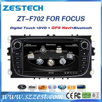 For Ford focus car dvd gps 2 din with Bluetooth Radio AM/FM CD DVD 3G MP3/MP4 2009-2011 ZT-F702