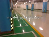 Maydos epoxy resin floor coating for car park floor decoration