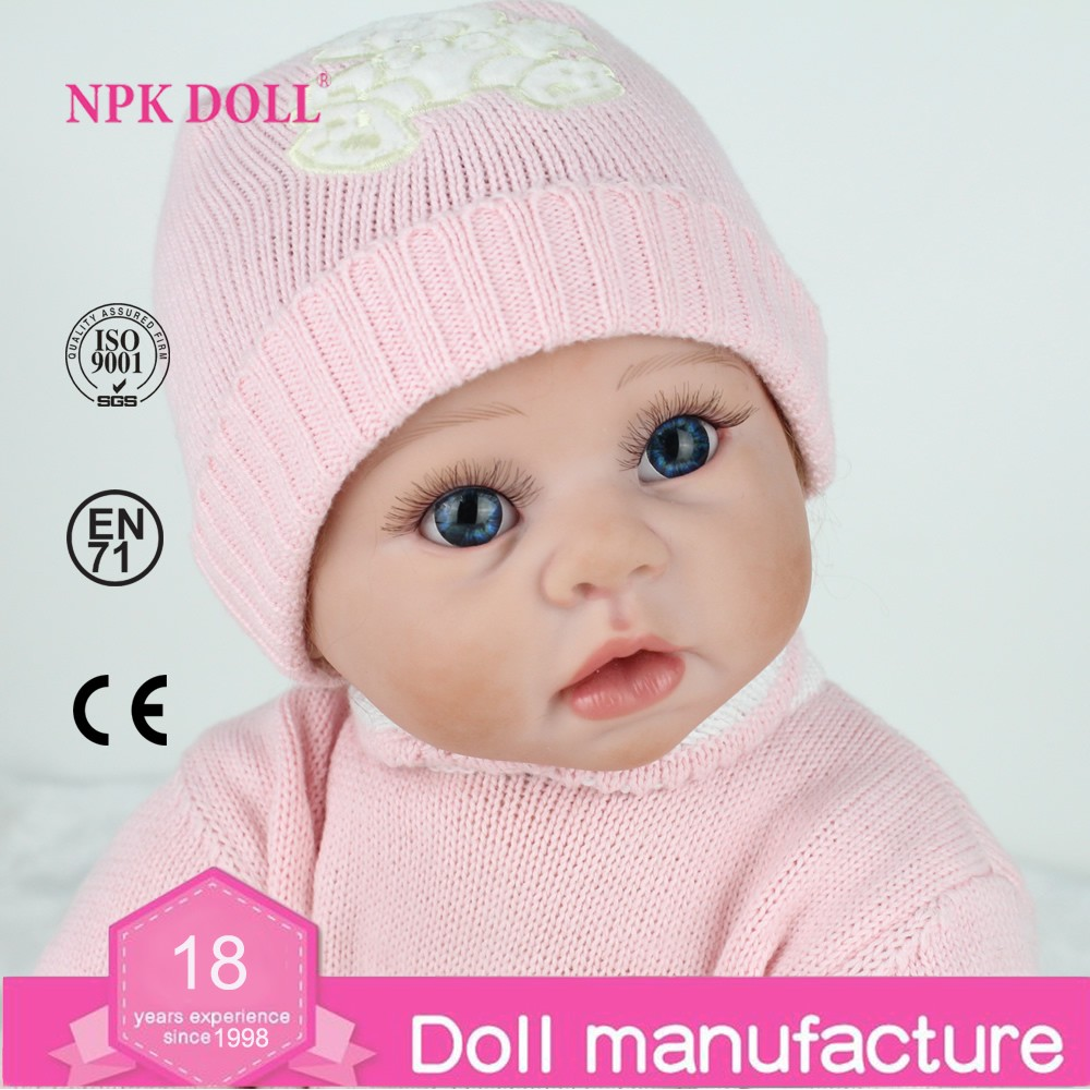 22 Inch 50cm Reborn Baby Doll Fake Baby Real Like Newborn ...