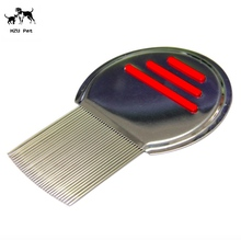 Tear Stain Remover Combs For Dogs, Smooth Stainless Tooth Gently and Effectively Removes Crust, Mucus, Stains and Flea