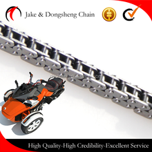 NEW PRODUCTS ! cng parts small timing chain China supplier go karts motorcycle parts chain 25H-100Link
