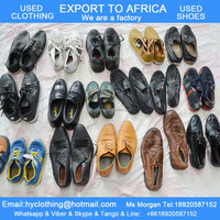 Used shoes for Africa cheap ladies and men's leather shoes sports shoes