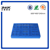 600*400*240mm folding plastic mesh side and base crate