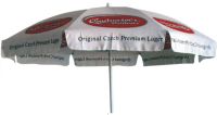 Beer Promotional advertising cheap beach umbrella new style oem promotional beach umbrella