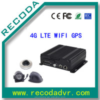 720P SD Card car dvr , car vehicle dvr recorder with 4G GPS tracking