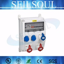 12way outdoor portable electrical combined sockets power distribution box
