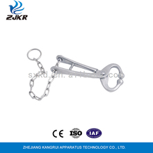 New arrival metal veterinary bull holder with chain