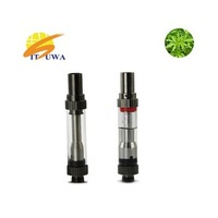 E cigarette disposable glass vaporizer pen cbd tank
