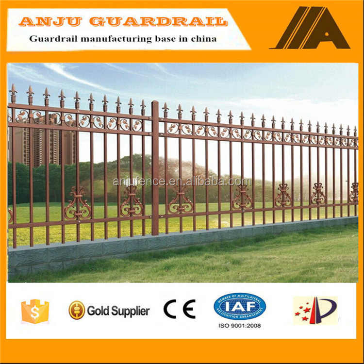 DK004 Color Prefabricated Corrugated Steel Fence Panel