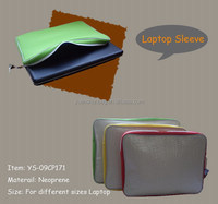 Neoprene easy laptop sleeve Case Bag Cover For laptop