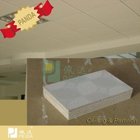 Easy to Clean PVC Gypsum Board Building Construction