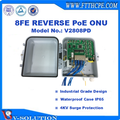 8 Ports Reverse PoE EPON ONU GEPON MDU for FTTC/FTTB Outdoor Application