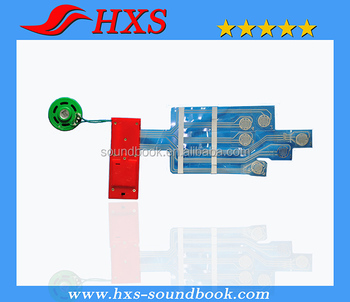 Professional Manufacturer Sound Module With Buttons For Children Sound Book