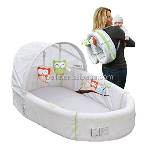 Simple installation baby bed comfortable foam baby lounge Combines The Best Of A Crib, Bassinet, And Changing Station