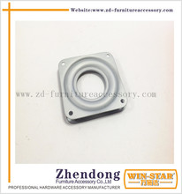 Metal Furniture Parts 4 Inch Square Lazy Susan Turntable Bearing