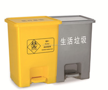 15L plastic trash bin garbage bin color code indoor recycling bins