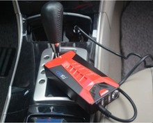 7500mAh Jump Start 15V vehicle fast charge jump start battery from cigar socket with LED light