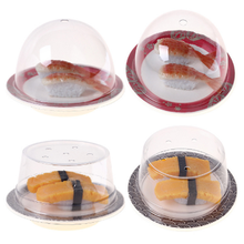 4 different designs stock goods with lid japanese sushi plastic <strong>plates</strong>