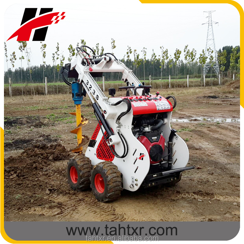 improved from HY380 mini skid steer loader made in China