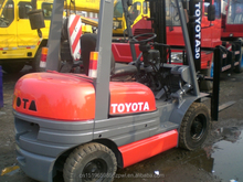 100% Japan original used 5 8 ton forklift Toyota also 20ton 3 ton 2.5ton forklift of best price for sale