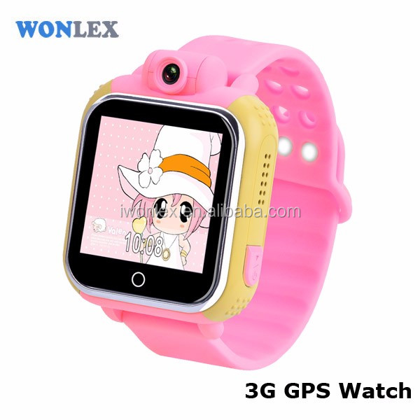 3G Smart Kids GPS Tracker Watch Wifi Wrist Kid GPS Watch with Camera Function