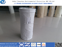 Water and oil repellent Nonwoven PTFE dust filter bag for free sample