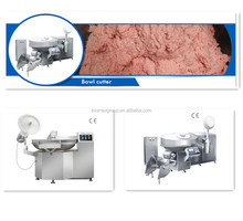 Automatic high speed vacuum Meat Chopper Sausage Bowl Cutter Machine