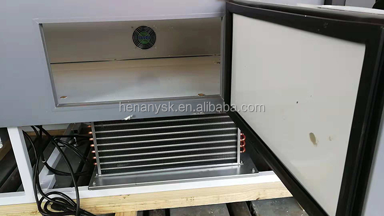 Electric Popular Warming Showcase Food Warmer Transparent Bakery Ice Cream Glass Display Showcase