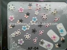 customized 3D nail polish sticker for females