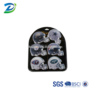 Customized sports logo ceramic fridge magnet ,blank sublimation fridge magnet
