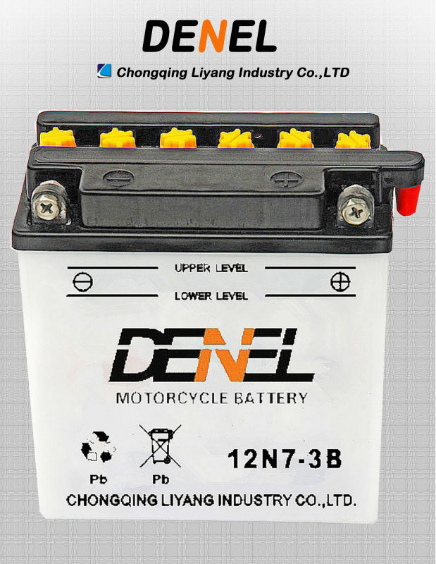 12V 7AH Motorcycle Battery Replacements/ three wheel motorbike
