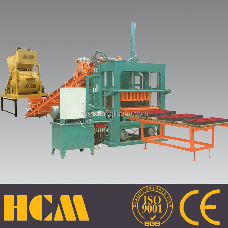 QT5-20 hollow block making machine philippine for color bricks and concrete blocks
