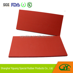 Silicone rubber foam pad for sublimation heat press machine