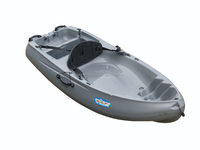 2015 new single sit on top kayak touring leisure time plastic canoe