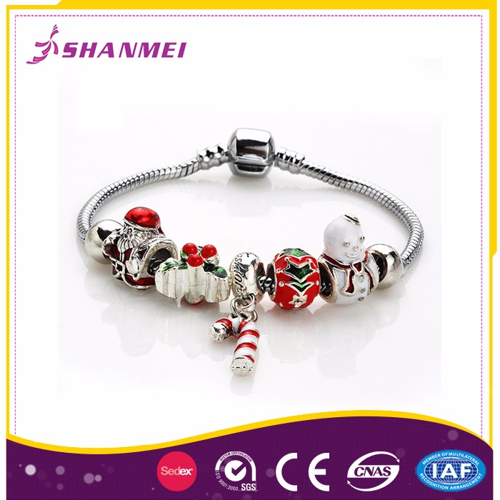 OEM Orders Welcome Alloy Beads bracelet Bangles Wholesale Jewelry