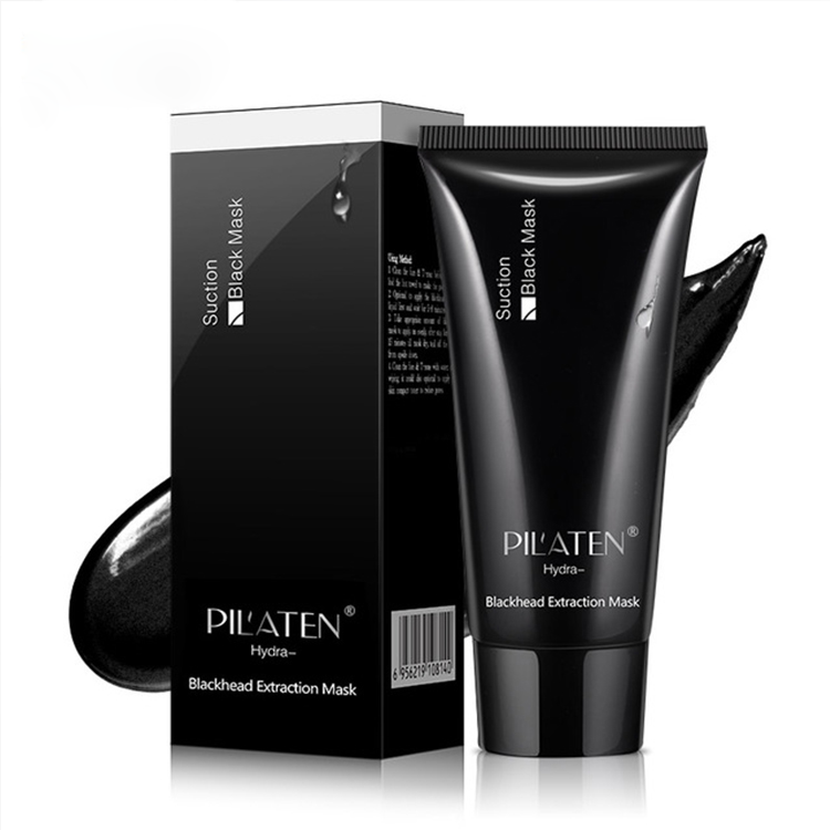 Pilaten Suction Facial Black Mask Blackhead Remover Deep Cleansing Purifying Peel Off Mud Mascarillas Faciales 60g