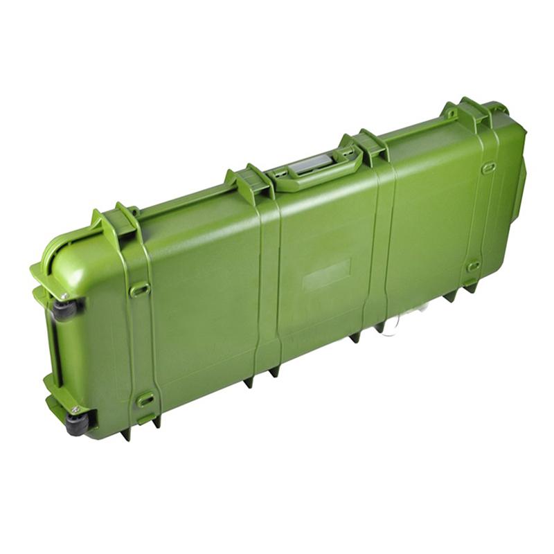 ABS Long Army Military Carrying Case Hard Plastic Waterproof Gun Rifle Case