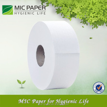 White Jumbo Toilet Tissue Roll Paper