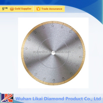 super thin sintered Diamond Turbo Saw Blade for cutting granite