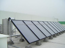 Solar hot water heating panels