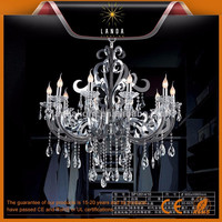 Silver Transparent Chandelier Light