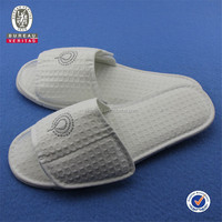 open toe waffle slipper hot sell slipper hotel from China