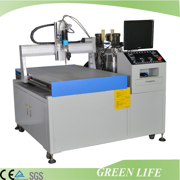 Automatic desktop 3 axis glue dispenser for transformer