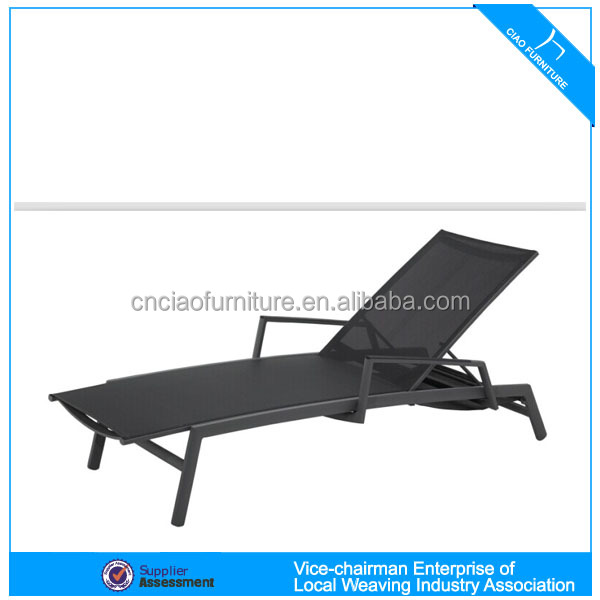 Leisure chaise lounger all weather outdoor pool furniture
