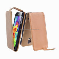 Mobile Phone Leather Case Flip Cover for Samsung Galaxy S5 i9600